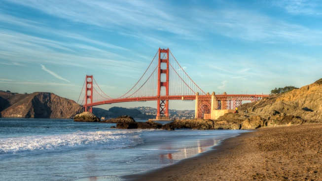 Baker Beach por Robert Schlie Photography