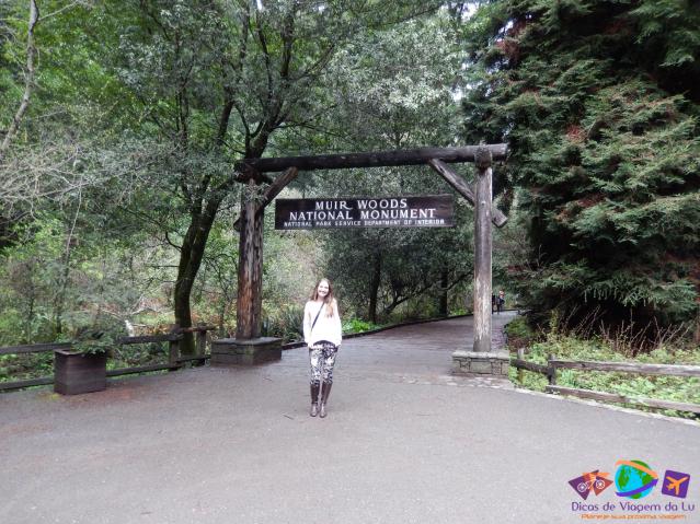 Entrada do Muir Woods National Monument