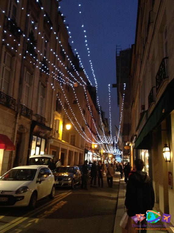 Rua em frente ao apartamento