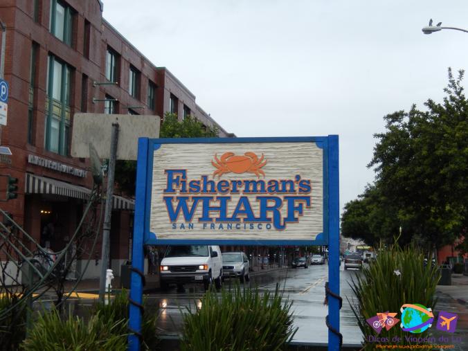 Começo da Fisherman's Wharf