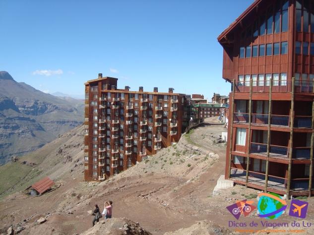 Apartamentos do resort