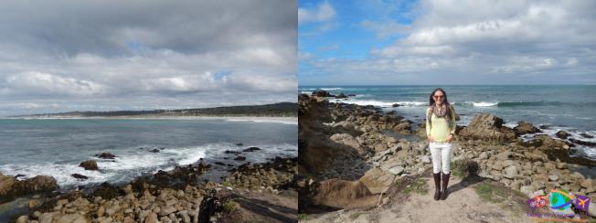 Monterey vista pela 17-Mile Drive / Praia do condomínio