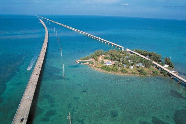 Maior ponte até Key West (foto: Google)