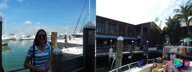 Píer de barcos / restaurantes
