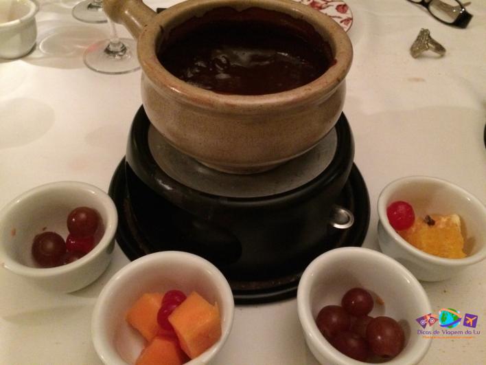Fondue de Chocolate (não inteiro)